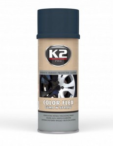 K2 GUMA W SPRAYU COLOR FLEX 400ml CARBON